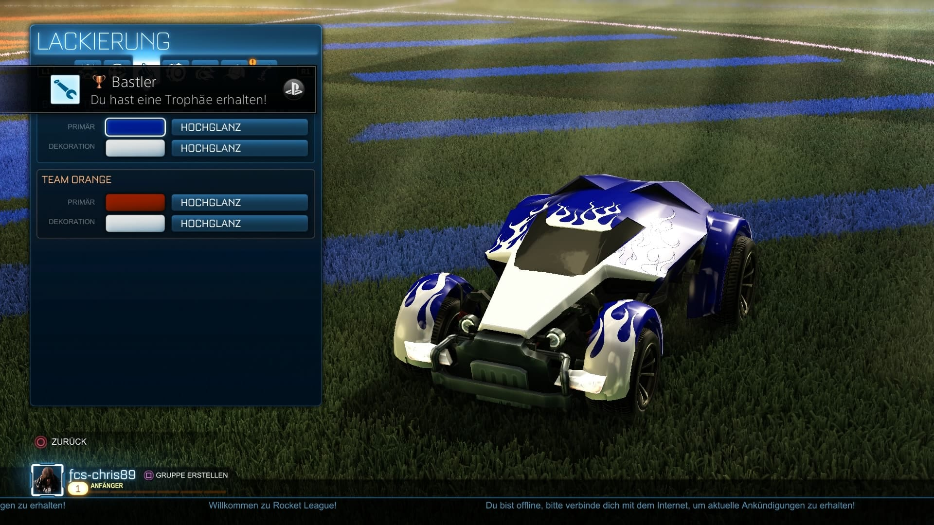 rocket league punkte