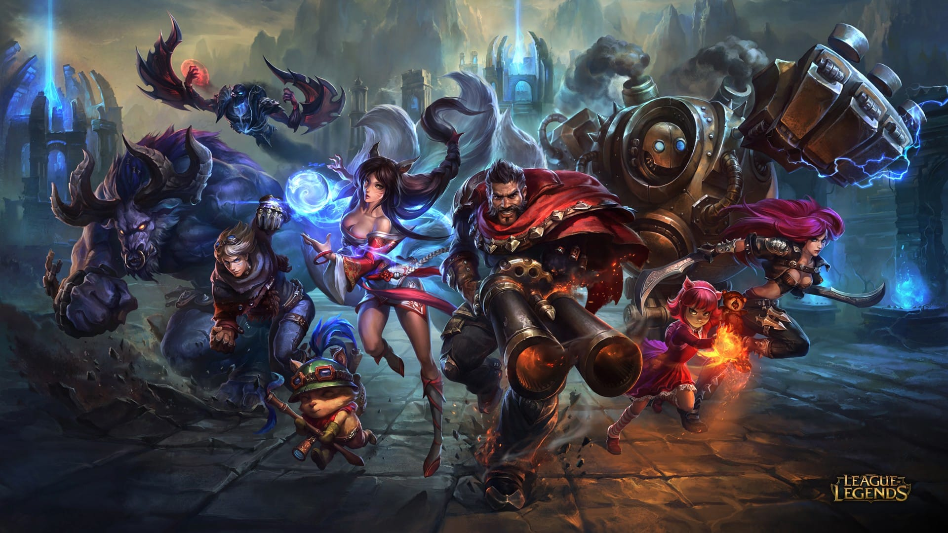 League of Legends Titelbild Neu