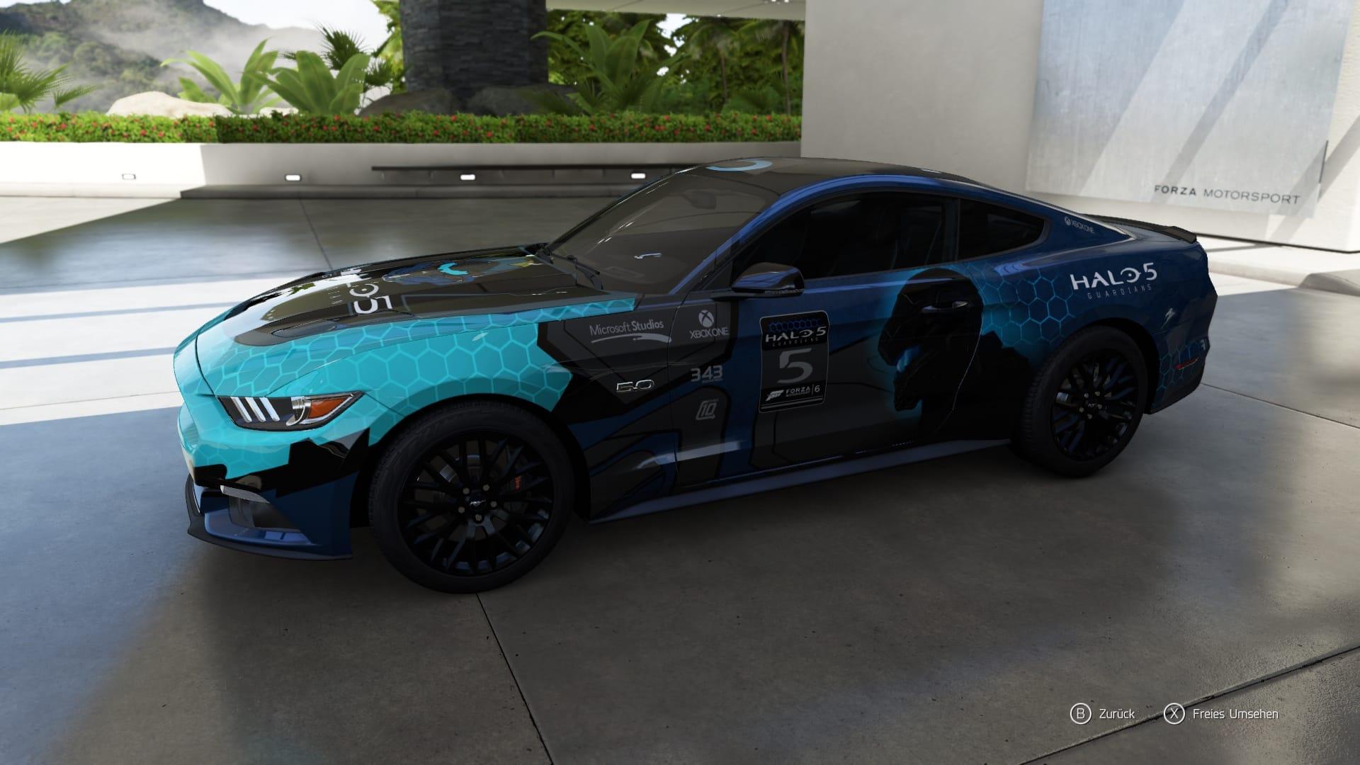 Forza 6 Halo Lackierung 1