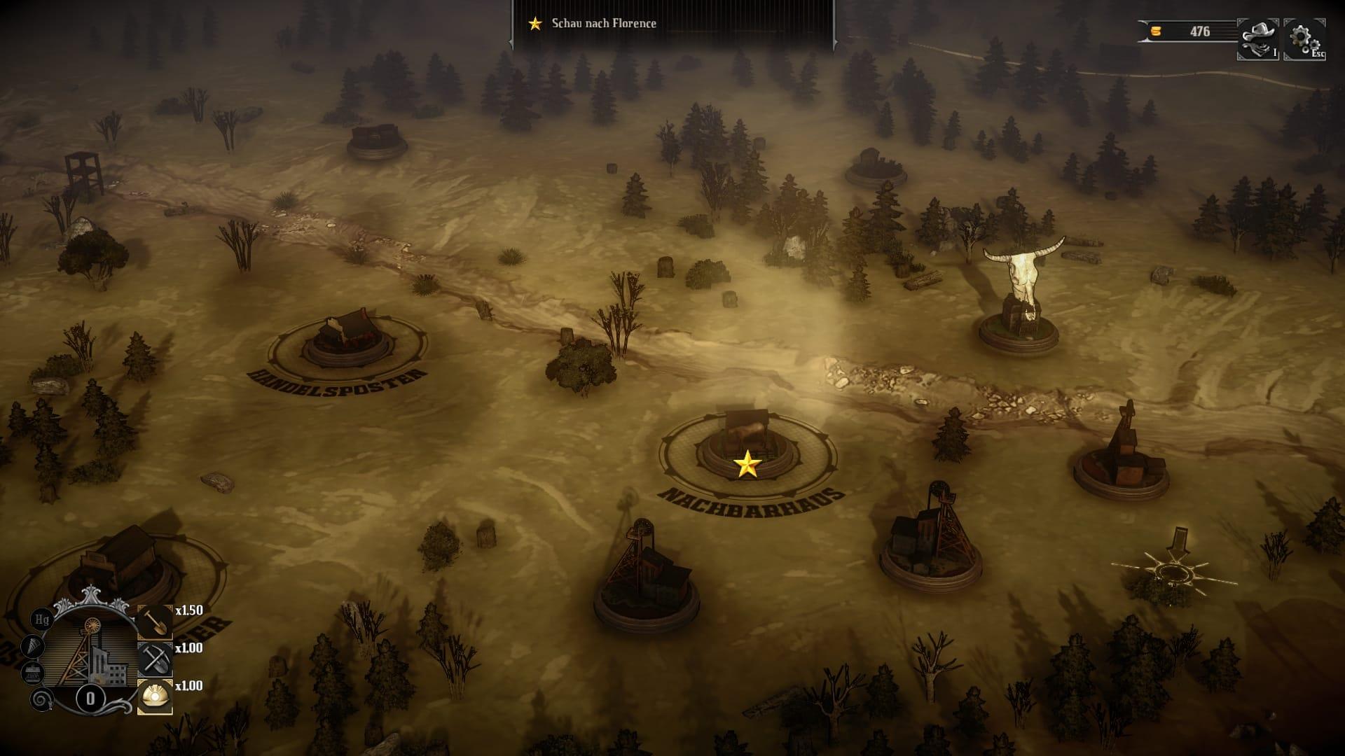 Hard West Screenshot1