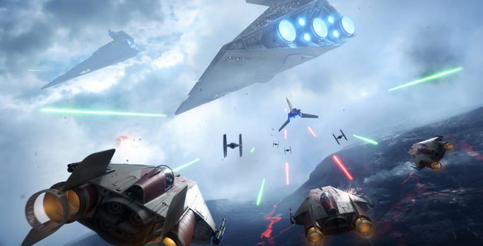 star wars battlefront raumschiffe