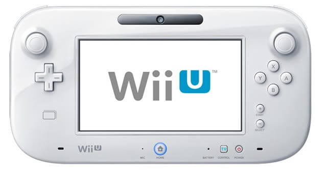 Wii U Gamepad white