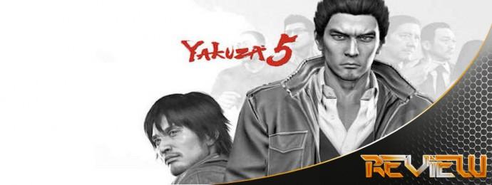 Yakuza 5 Banner