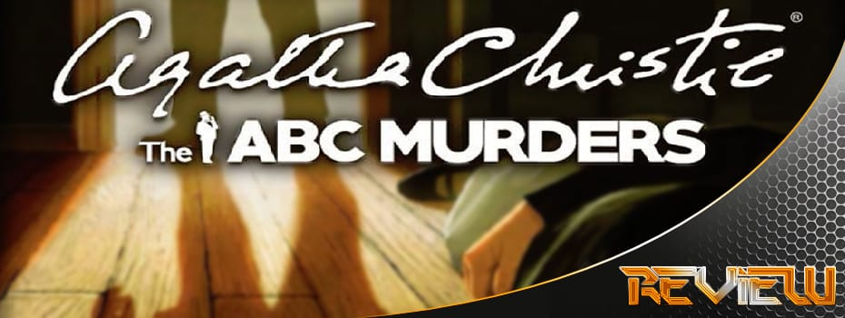 Agatha Christie – The ABC Murders banner