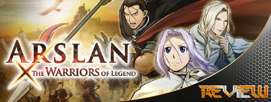 Arslan The Warriors of Legend banner