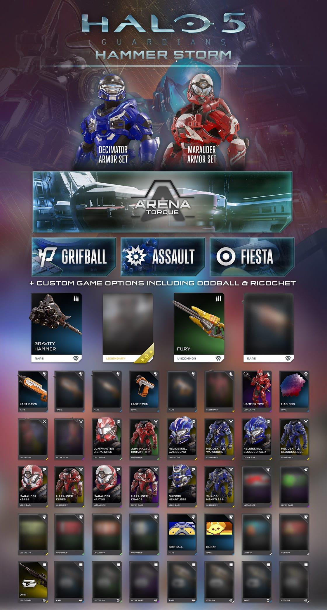 Halo 5 Hammer Storm Update REQ