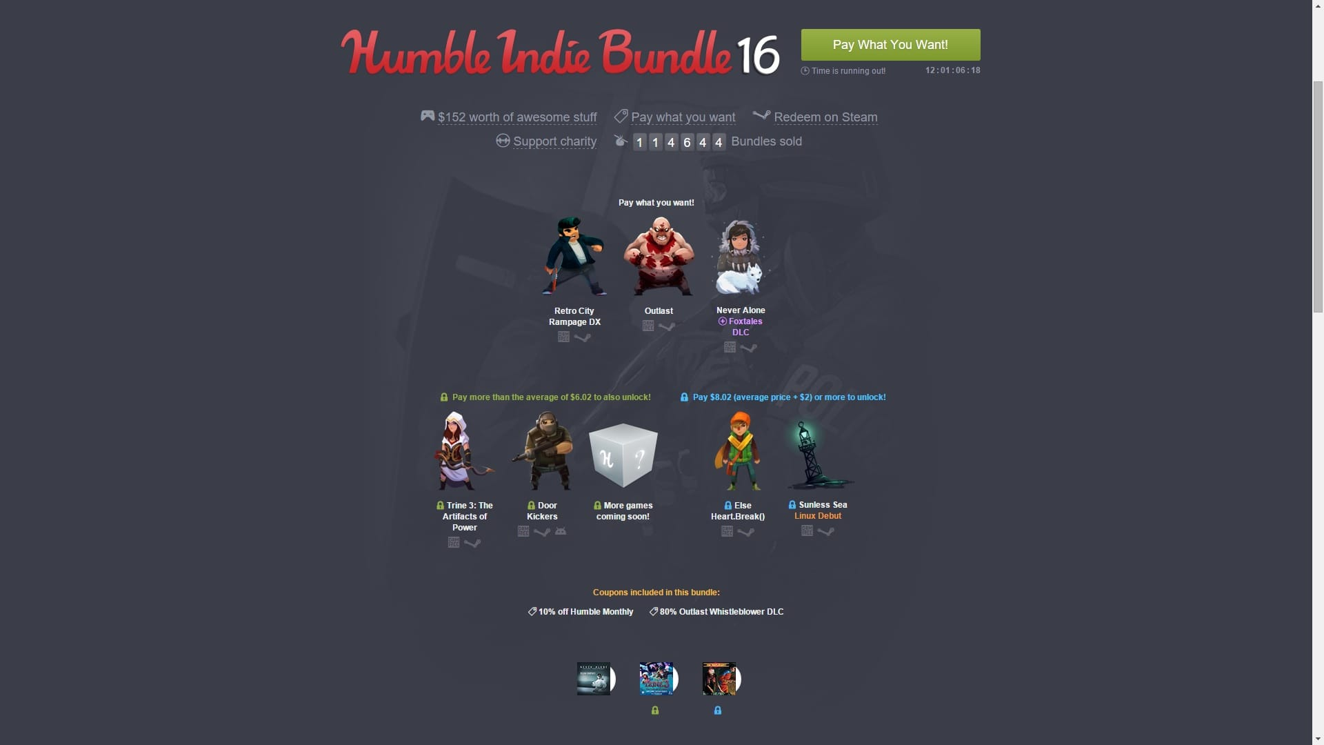 Humble Bundle Indie 16