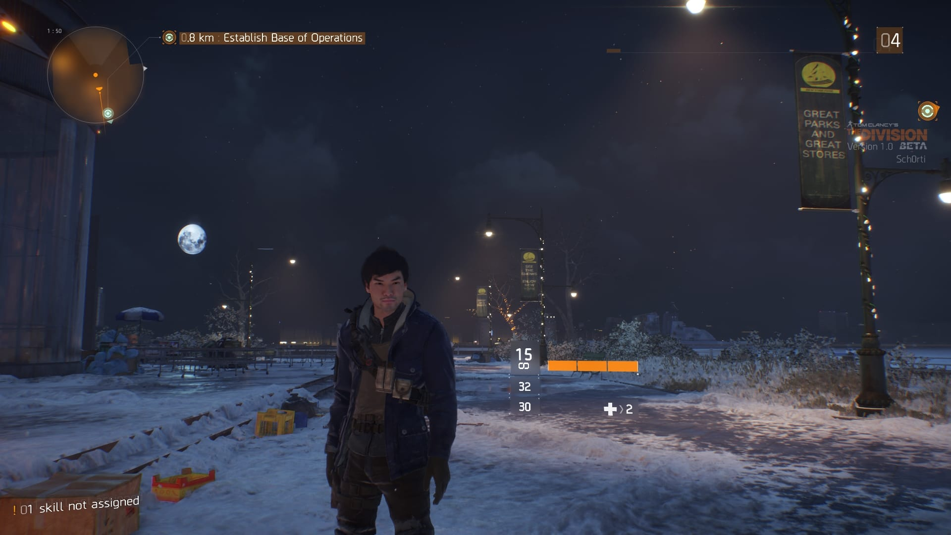 Tom Clancy's The Division Beta Screenshot1