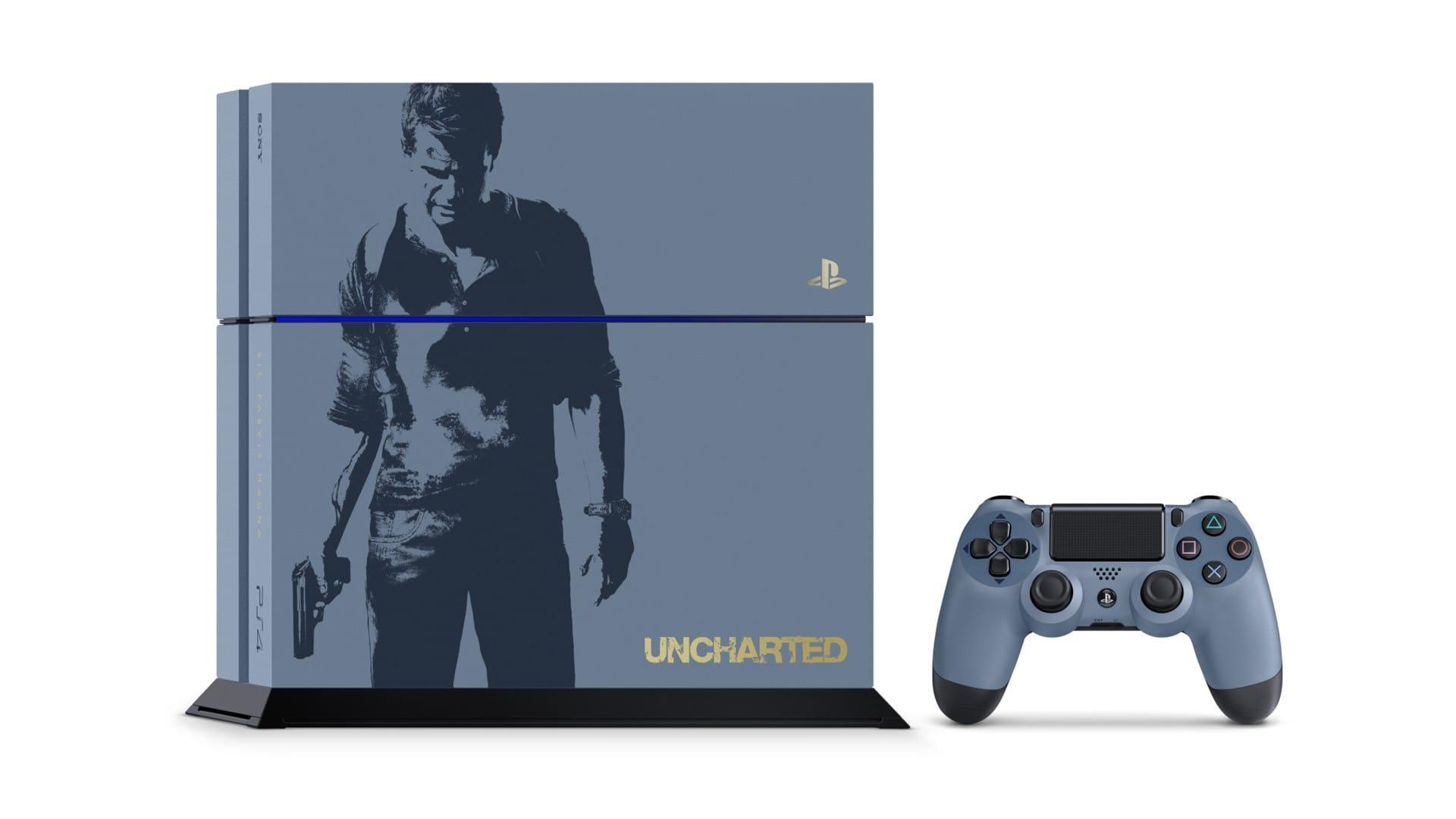 Uncharted 4 Konsole