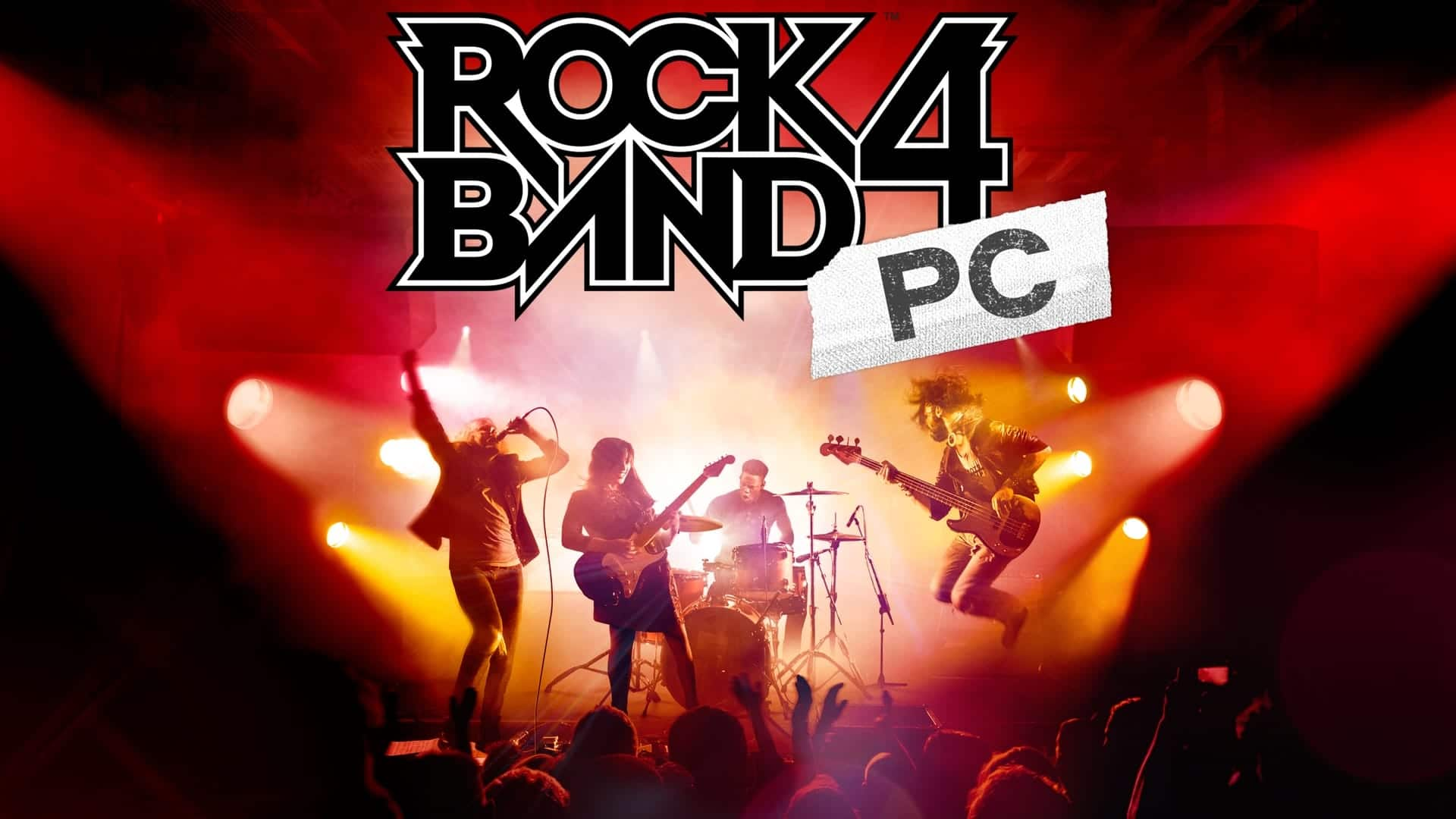 Rock Band 4 PC Banner