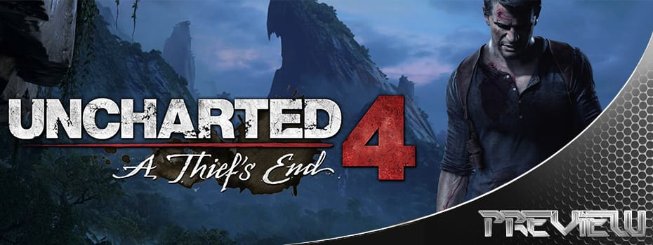 Uncharted 4 Preview Banner