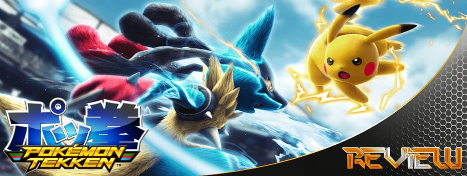 Pokémon Tekken Banner