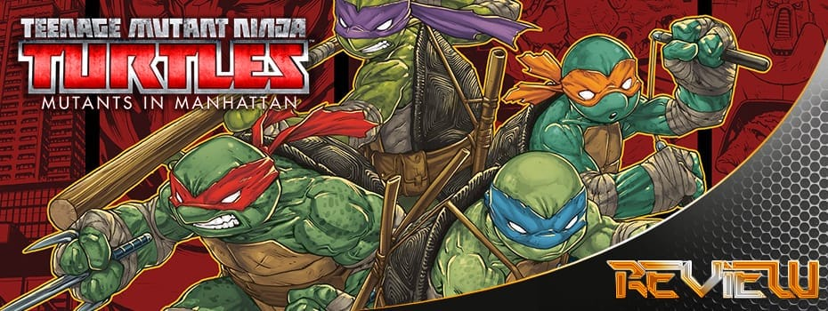 teenage mutant ninja turtels mutants in manhatten banner