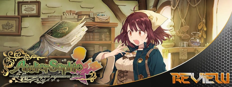 Atelier Sophie - Alchemist of the Mysterious Book Banner